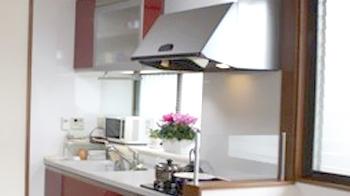 開放的なキッチンになり大満足です!