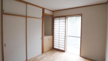 和室から洋室へと様変わり。過ごしやすい空間になりました。